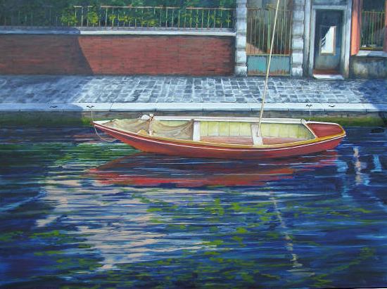 Red Boat #2, Venice
