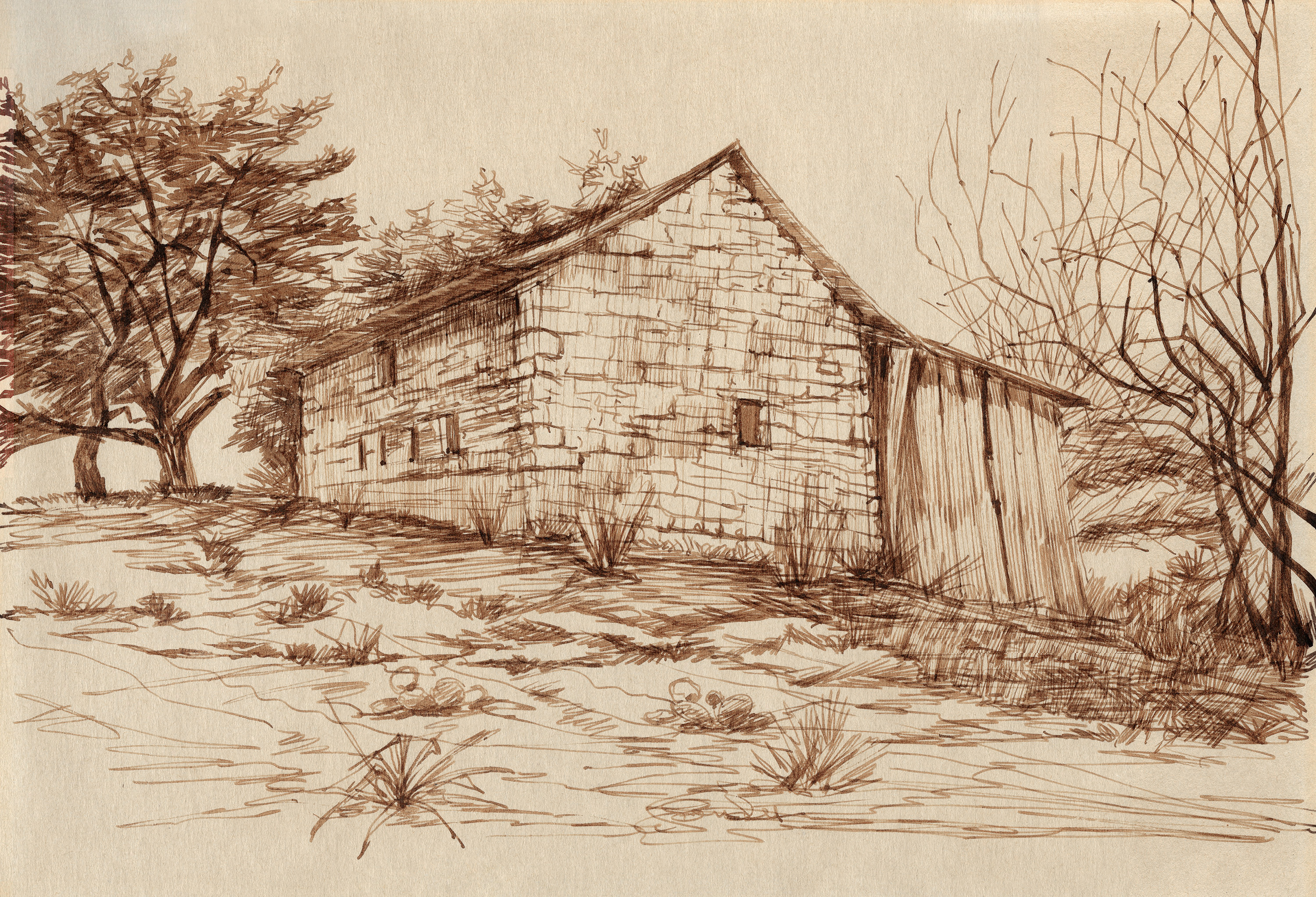 Stone House at Sisterdale