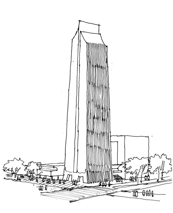 Arquitectura dibujada: trazos que sorprenden los sentidos
