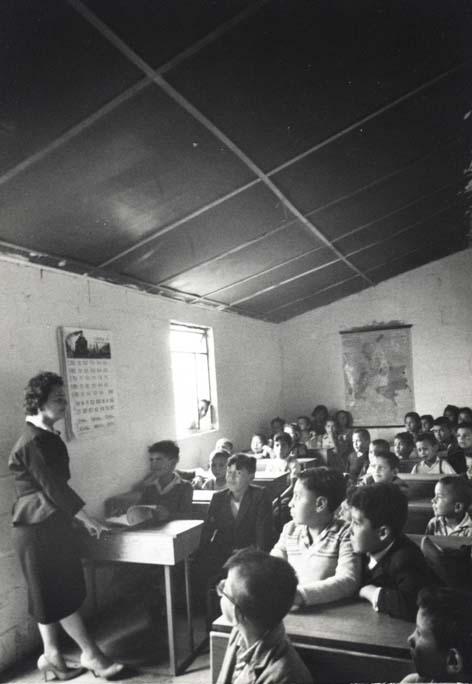 Escuela cuarto atrás La Fragua
