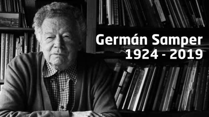 Canal 1 Noticias: A los 95 años, fallece Germán Samper Gnecco, arquitecto bogotano