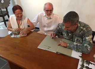Lanzamiento libro Pedro Ruiz - Pintor en el Museo de Arte Moderno de Cartagena