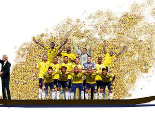 Selección Colombia - ORO puro