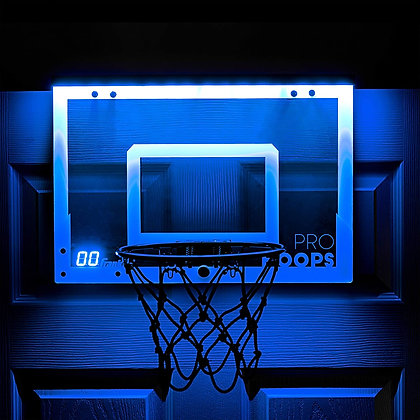Franklin Sports Over The Door Mini LED Scoring Basketball Net