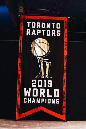 Toronto Raptors 2019 World Championship Banner 5ft x 3ft