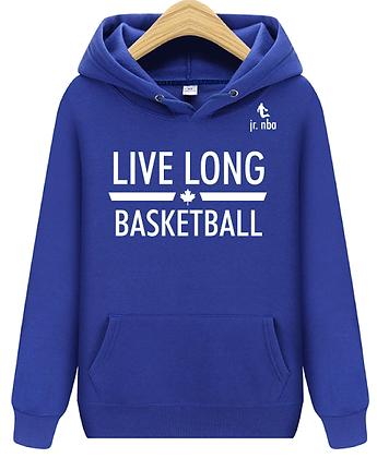 Classic Blue Jr. NBA Live Long Hoodie