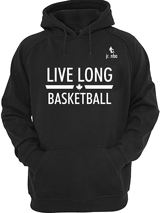 Classic Black Jr. NBA Live Long Hoodie