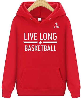 Classic Red Jr. NBA Live Long Hoodie