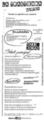 Flyer Carta Tiro para llevar diciembre 2