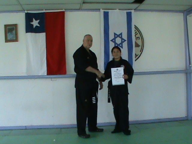 Primera instructora de Krav Maga