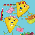 Tortilla Twins translate Spanish to English for eachother and to help KS1 and KS2 children learn Spanish