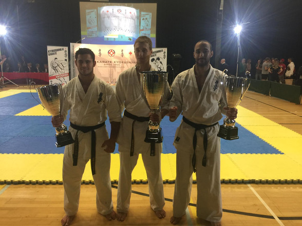 Sensei Clai with winners