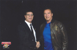 with Arnold Schwarzenegger
