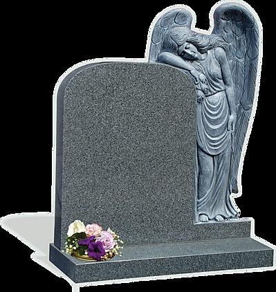 Angle Grave Stone
