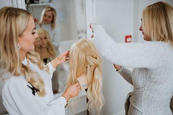 Bridal hair education