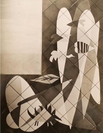 Met de Penninghem / Gelatin-silver print, 1952. 30 X 40 cm.