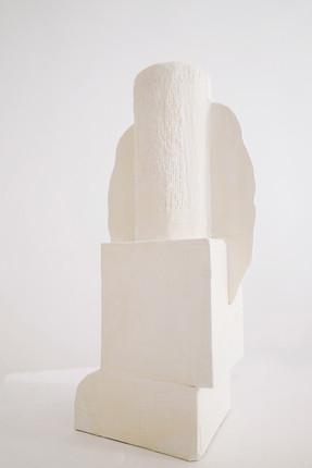 Vase N°3 / 35 X15 X 10 cm. Cardboard prototype