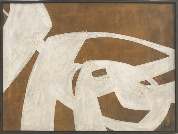S. Hiller / Oil on canvas, 1967. 96 X 72 cm.
