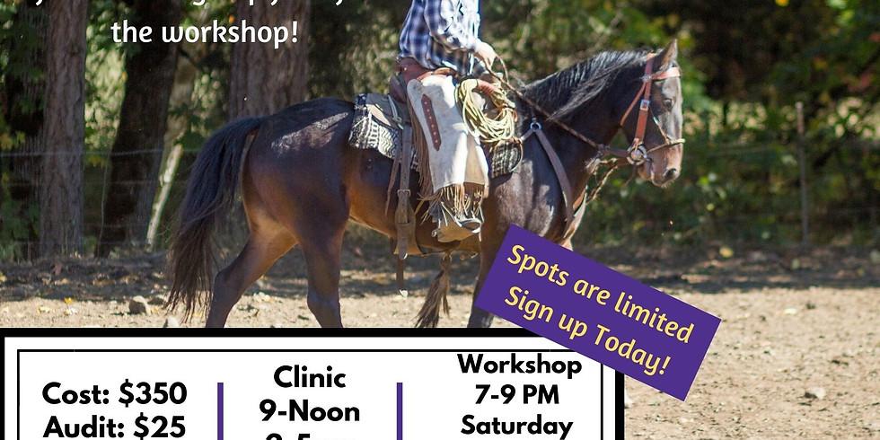 Peak Performance Clinic - Scott DePaolo Horsemanship