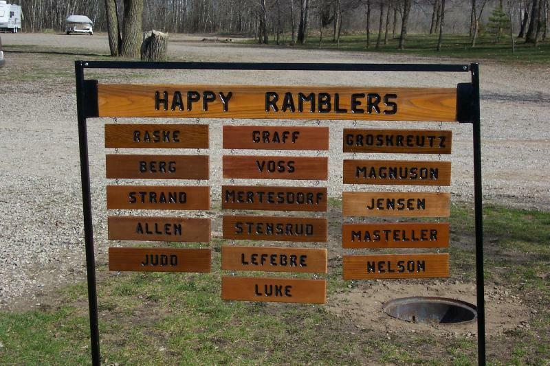 Happy Ramblers 2004