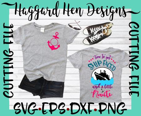 HHD Shipfaced and Nauti SVG