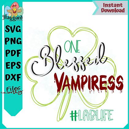 One Blessed Vampiress