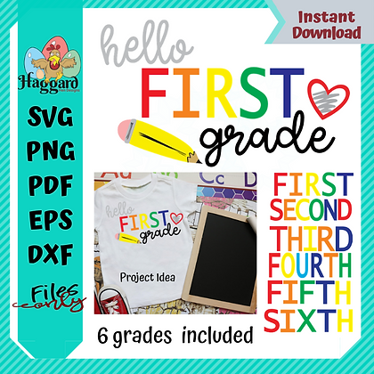 HHD HELLO GRADE SVG BUNDLE