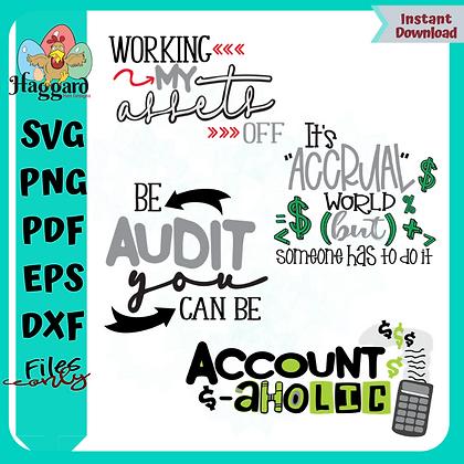 HHD Accountant SVG Bundle