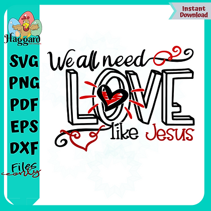 HHD We all Need a Love Like Jesus