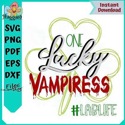 One Lucky Vampiress