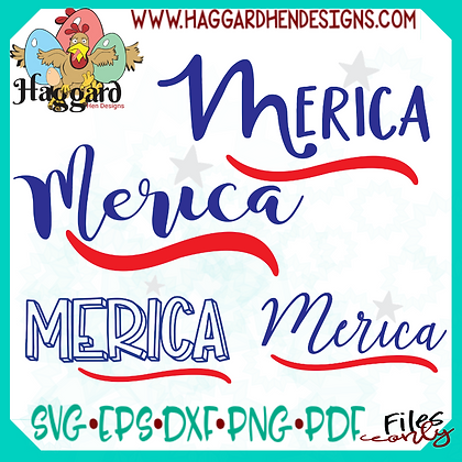 HHD Merica SVG