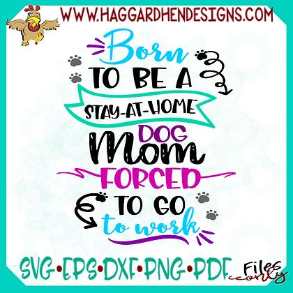 HHD Forced to Work Dog/Cat Mom Bundle SVG