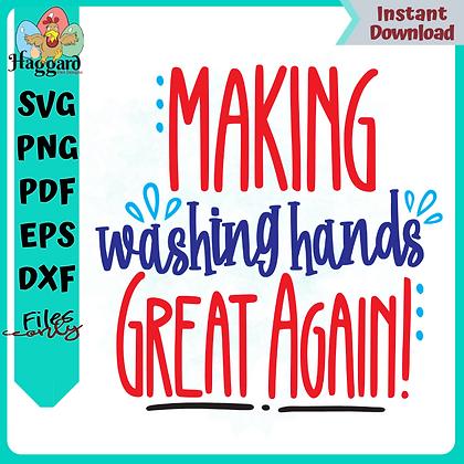 Making Washing Hands Great Again