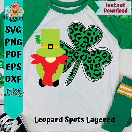Leprechaun Gnome SVG