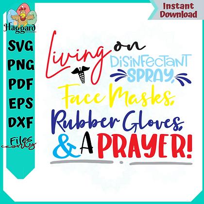 Living on Disinfectant Spray & a Prayer