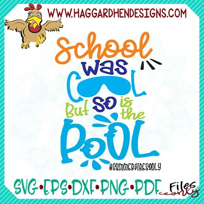 HHD School was Cool SVG