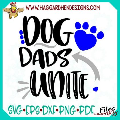 Dog and Cat Dads Unite SVG Bundle