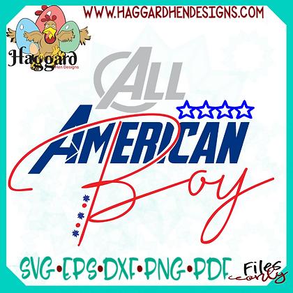 HHD American Boy SVG