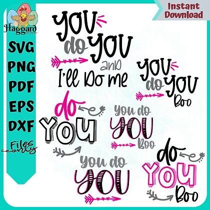 You Do You SVG Bundle