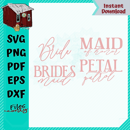 HHD Bridal Bundle SVGS