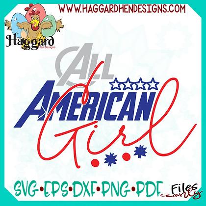 HHD American Girl SVG