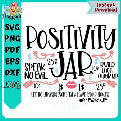 Positivity Jar SVG