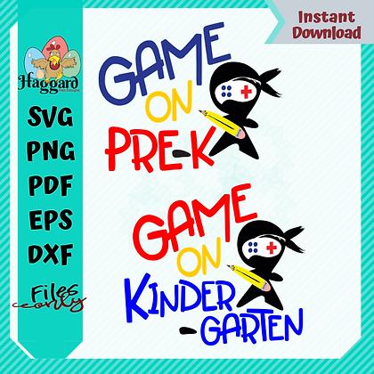 HHD GAME ON SVG BUNDLE
