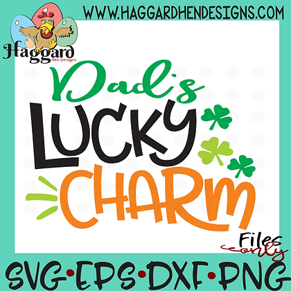 Dad's Lucky Charm SVG