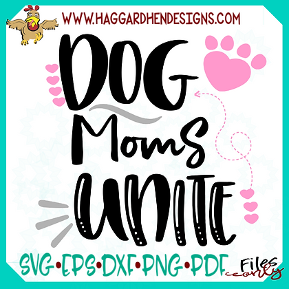 SVG Bundle Cat/Dog Moms Unite