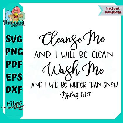 HHD Cleanse Me Psalms 51-7