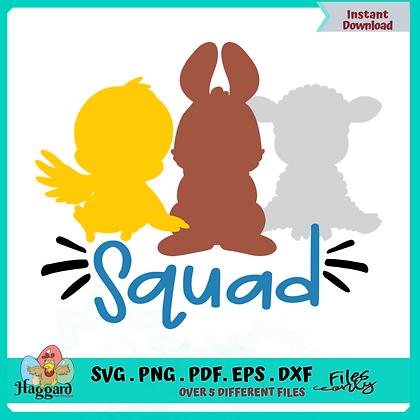 Easter Squad SVG