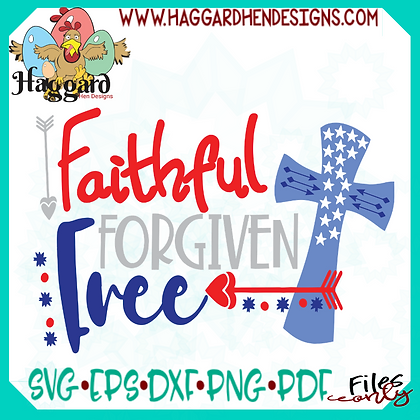 HHD Faithful Forgiven Free SVG
