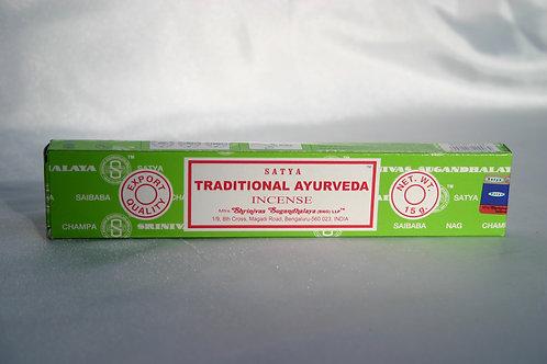 Encens Ayurveda traditionel