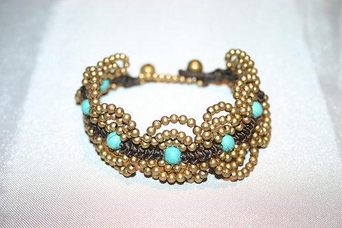 Bracelet rhodium